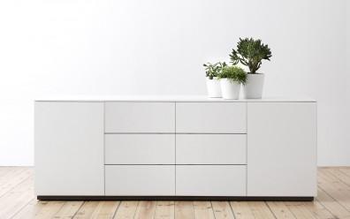 Weiße Sideboards