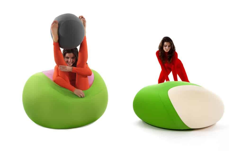 sitzsack newpouf sphere design sitzsack sphere online bestellen bei wohnstation. Black Bedroom Furniture Sets. Home Design Ideas