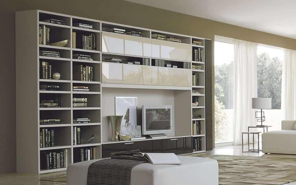 Bücherregal Mit TV Element