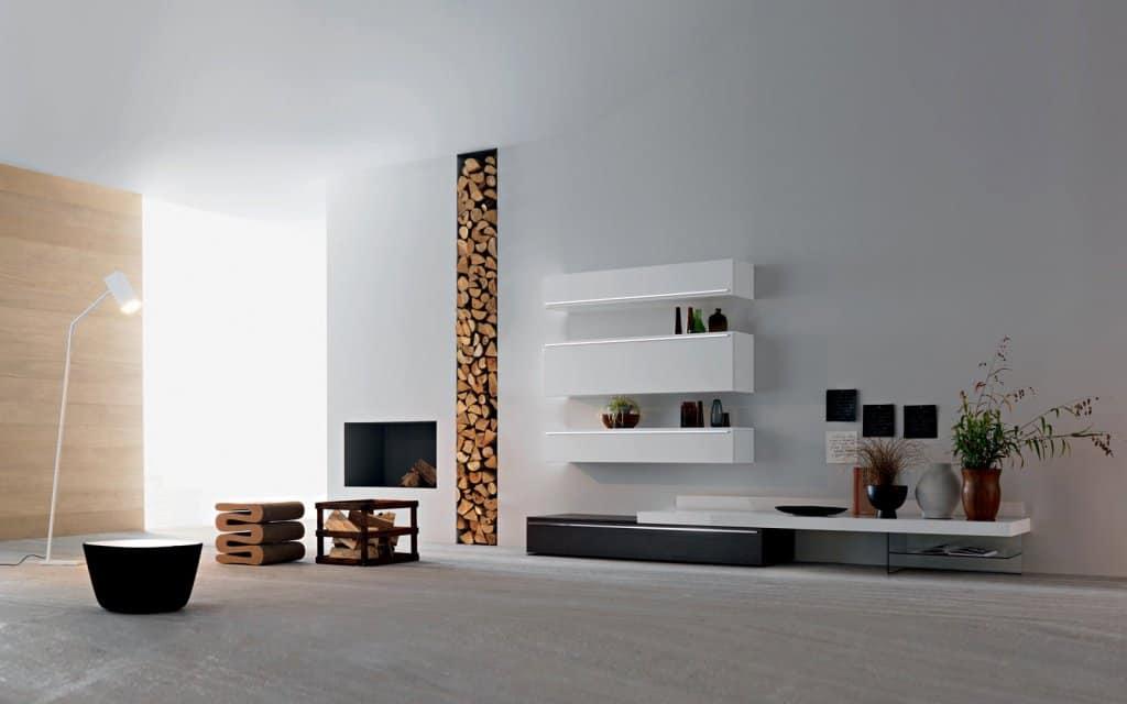 TV Wand Lampo L2-18 Wohnzimmer Möbel