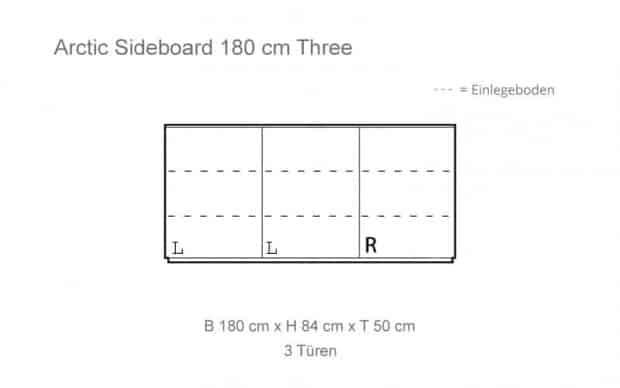 Arctic Sideboard Skizze