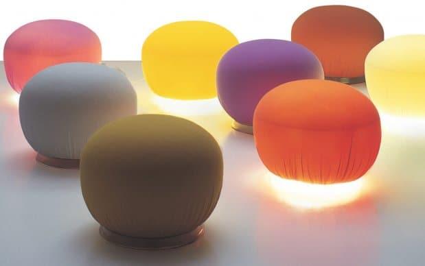 Campeggi Marocchino Hocker & Lampe Farben