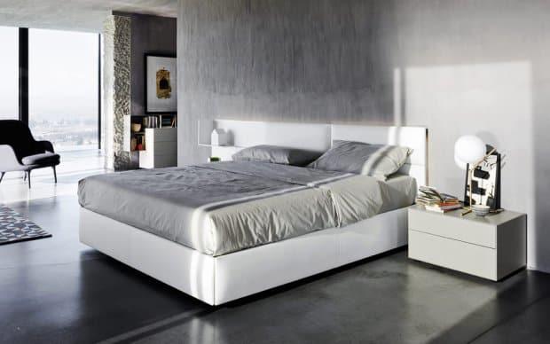 Elegante Nachttisch 40 cm hoch
