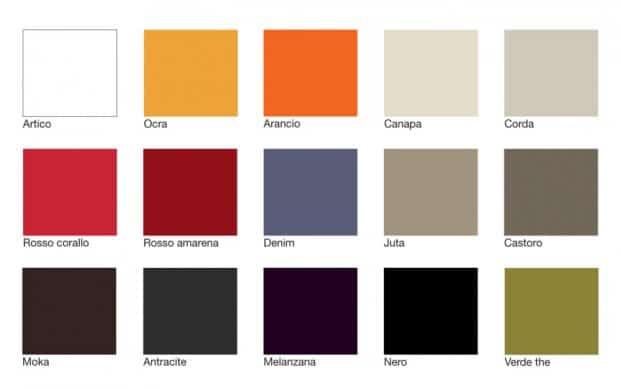 Hochglanz Farben