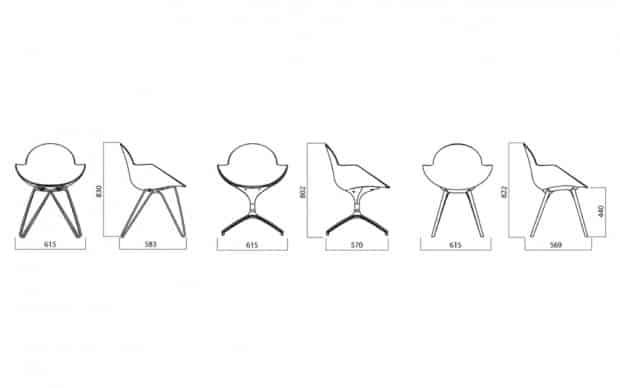 Infiniti Chair Cookie skizze