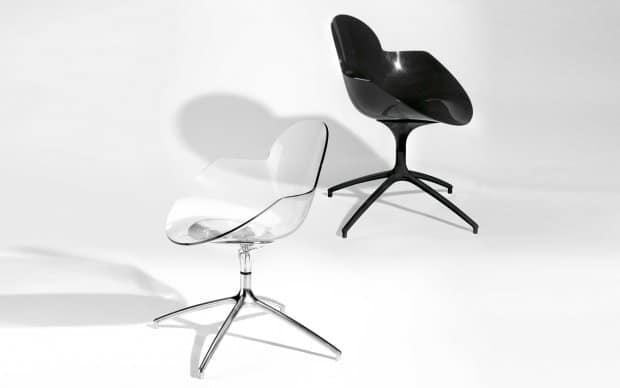 Infiniti Chair Cookie transparent und schwarz