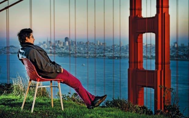 Infiniti Stuhl Next rot San Francisco