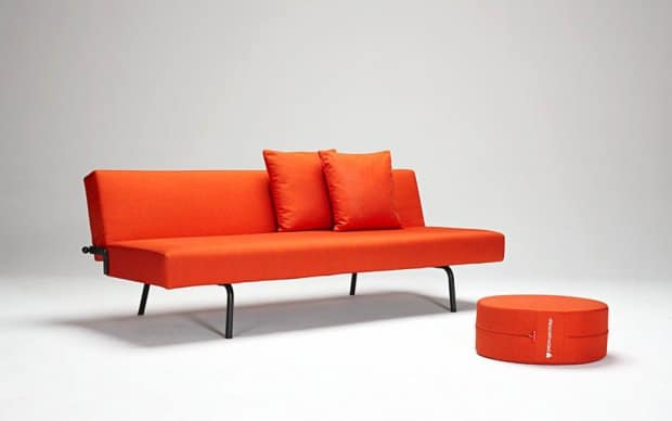Schlafsofa Super Light Orange