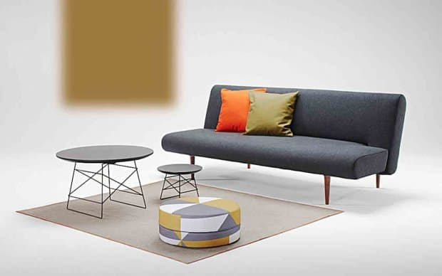 Innovation Schlafsofa Unfurl Black Nist