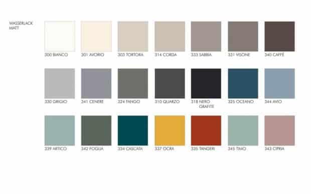 Dotty Lack-Farben