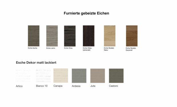 Farbmuster Holzfarben