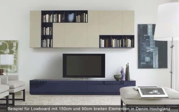 Beispiel Wohnwand
