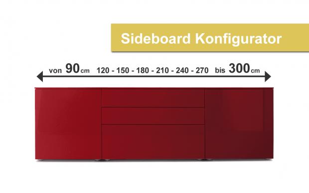 Airline Sideboard Desginer Konfigurator