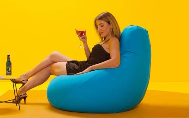 Sitzsack Expandpouf Classic entspannen
