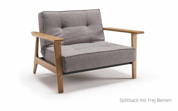 Splitback Chair in 521 mit Frej Beinen