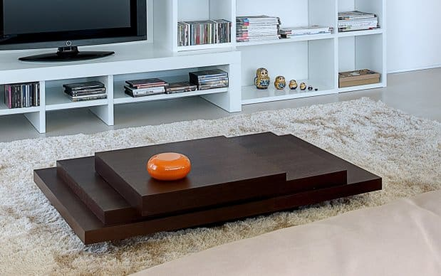 temahome Couchtisch Slate 120 Choco