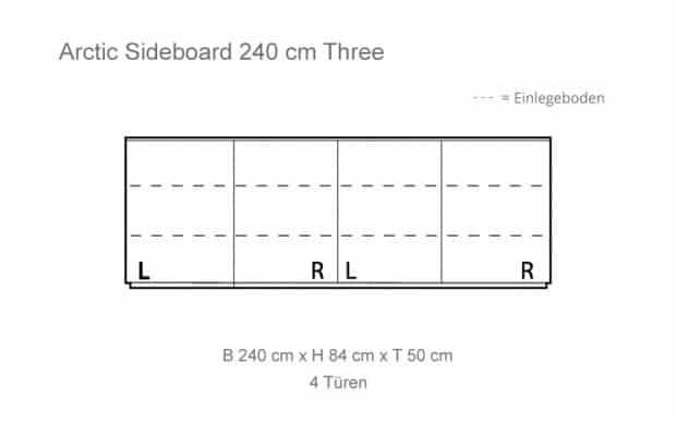 Voice Arctic Sideboard Skizze