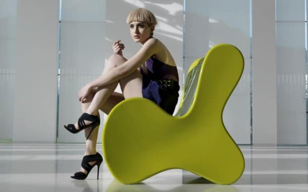 Doux Lounge Sessel (Vondom) grün - Ambiente