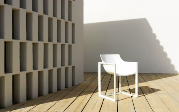 Wall Street Stuhl (Vondom) weiß Ambiente 2