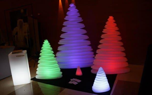 Vondom Chrismy Weihnachtsbaum verschiedene Größen in verschiedenen Farben