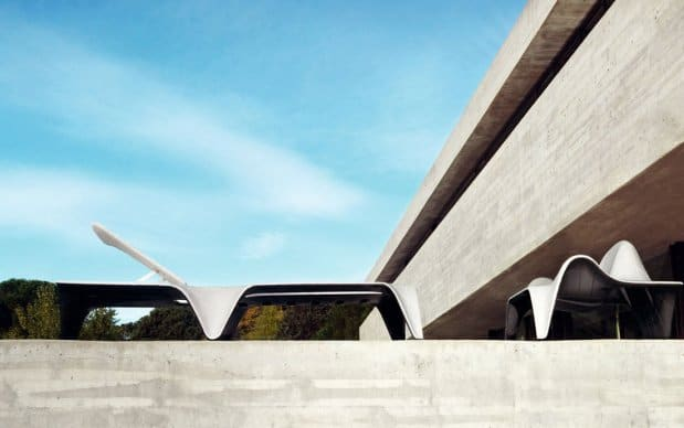 Vondom F3 Sonnenliege Terrasse