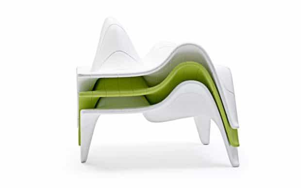Vondom F3 Sessel gestapelt