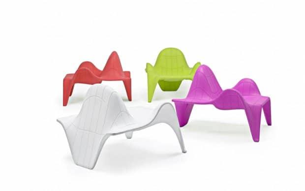 Vondom F3 Sessel verschiedene Farben