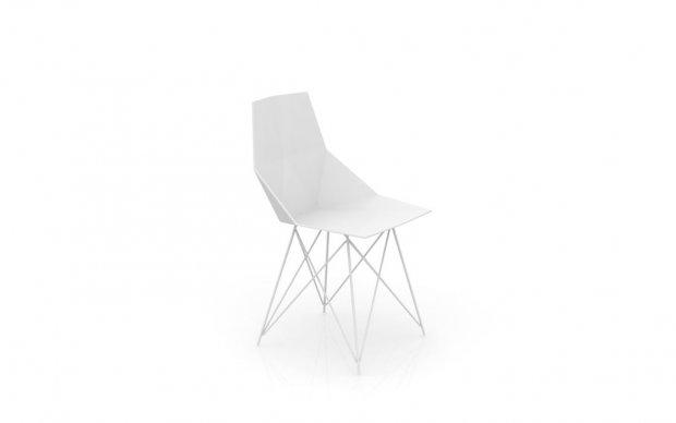 Vondom Faz Silla Stuhl in Weiß