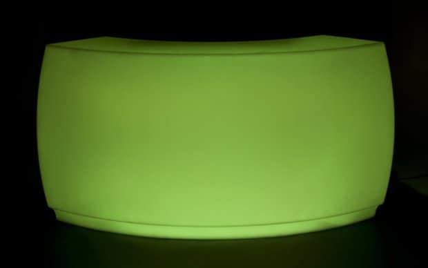 Vondom Fiesta Barra Curva grün led