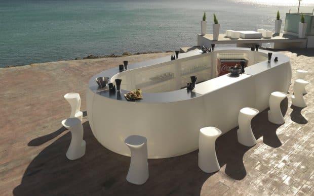 Vondom Fiesta Barra Curva Lounge Bar