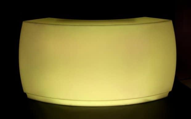 Vondom Fiesta Barra Curva gelb LED