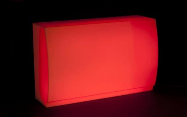 Vondom Fiesta Barra LED rot