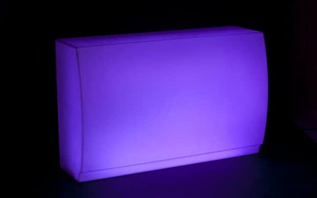 Vondom Fiesta Barra LED Violet