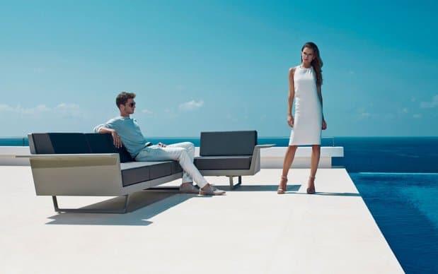 Vondom Flat C4 Sofa seitlich