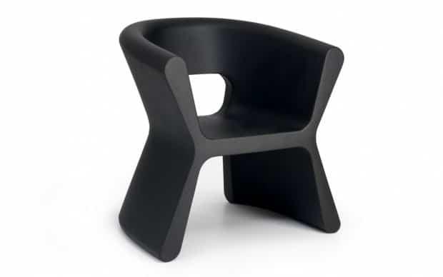 Vondom Pal Sillon Sessel schwarz