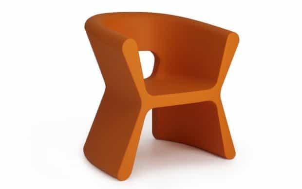 Vondom Pal Sillon Sessel orange
