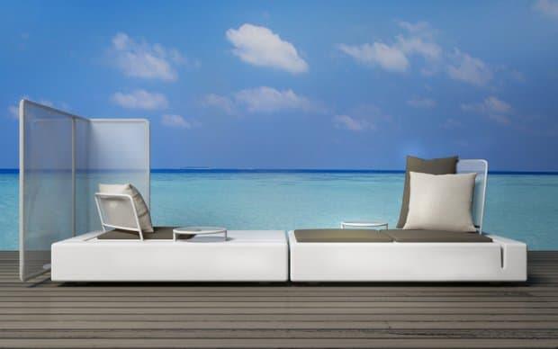 Vondom Kes Sofa Element Links Rueckenlehne