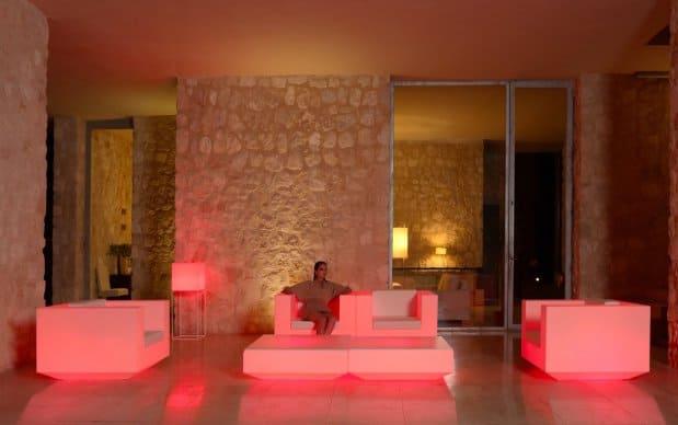 Vondom Vela Mesa Sofa Tisch LED