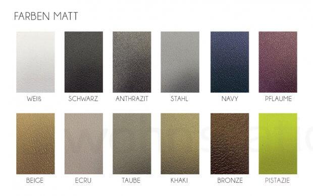 Vondom Farbübersicht Matt