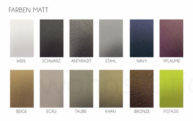 Vondom Sabinas Sessel Farben Matt
