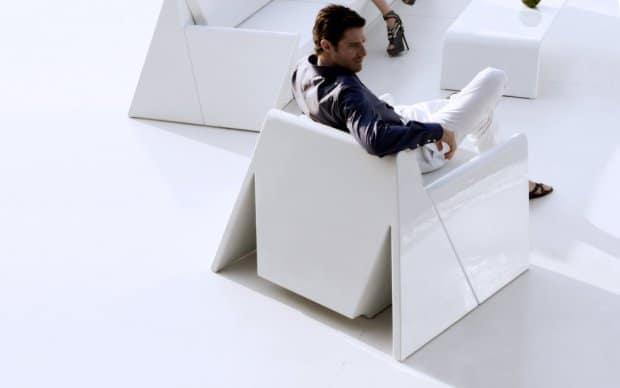 Vondom Rest Butaca Sessel von hinten