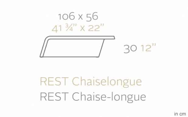 Vondom Rest Mesa Sofa Tisch skizze