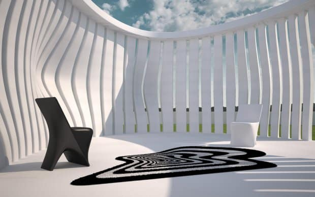 Vondom Twist and Shout Outdoor Teppich