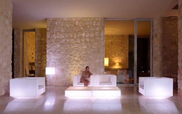 Vondom Vela Sofa B300cm mit Beleuchtung