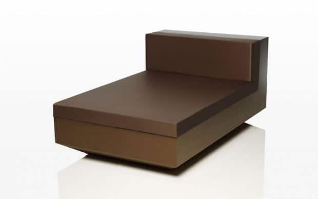 Vondom Vela Lounge Sofa Element Mitte Bronze
