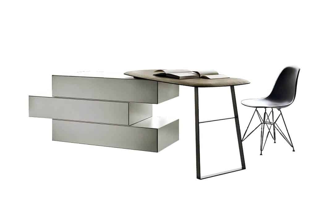 San Giacomo Designer Kommode Ecletto Mit Tisch