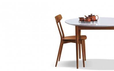 Esszimmertisch City (Oliver-B-Casa) mit Stuhl