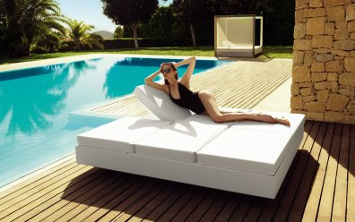 Vela Daybed Quadrat Basic Sonneninsel