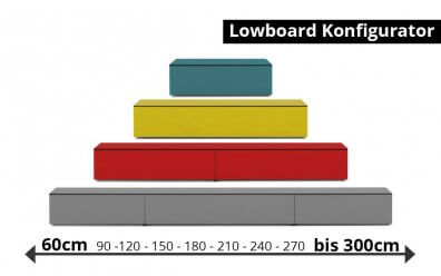 Lowboard Konfigurator