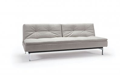 Innovation Schlafsofa Dublexo beige Showroom